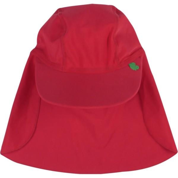 Bademütze mit extra breitem Nackenschutz - der Sommer kann kommen!
