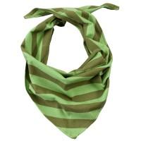 Grosses griffiges 50 cm Halstuch Kopftuch zum Binden grün