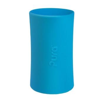 Pura kiki Silikonhülle groß 325 ml – blau