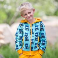 Coole Kinder Jacke für Drinnen und Draussen Traktor
