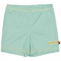 gestreifte leichte Shorts mint