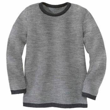 Leichter Wolle Pullover anthrazit