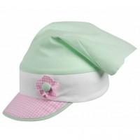 Vorschau: Bio Kopftuch für Babys & Kleinkinder von pure pure - hellgrü