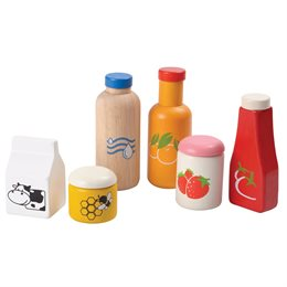 Kaufladen Zubehör Lebensmittel