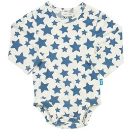 Sternen Babybody langarm dicke Druckknöpfe