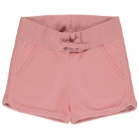 Kurze Sweat Shorts altrosa
