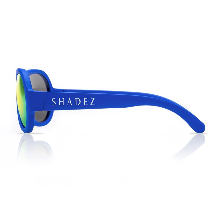 Baby flexible Sonnenbrille 0-3 Jahre uni blau polarisiert | greenstories