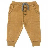 Sweat Babyhose in karamell melange