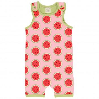 Sommer Strampler Beachbody Wassermelonen rosa