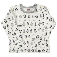 Bio Baby Shirt Interlock Pinguine