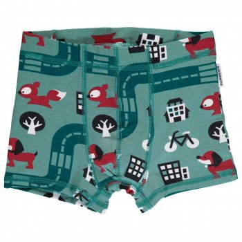 Jungen Boxershorts Big City petrol