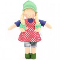 Bio Puppe zum Ankleiden 38 cm - Lotta