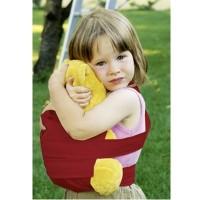 Fürs Geschwisterkind - marsupi mini Trage rot