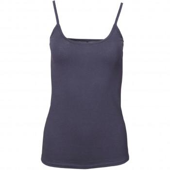 Damen Trägerhemd in dunkelblau