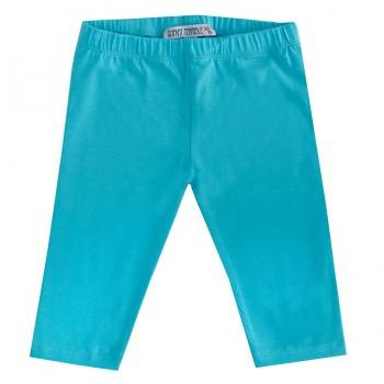 Glatte 3/4 Leggings leuchtendes blau