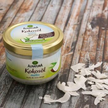 Kokosöl nativ 400 ml – Veganes Kokosnussöl
