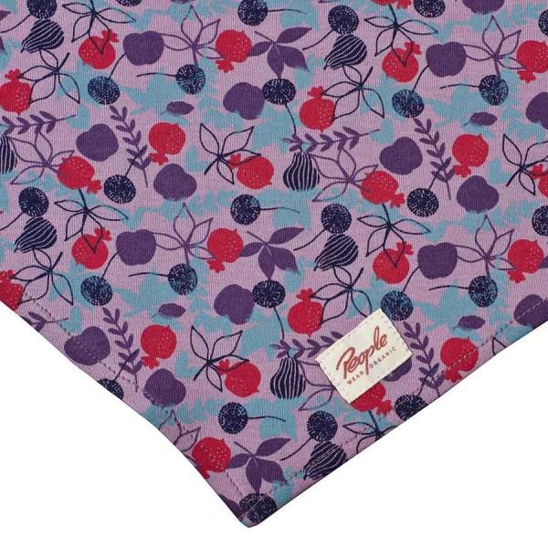 Grosses 50 cm Halstuch Kopftuch Binden lila