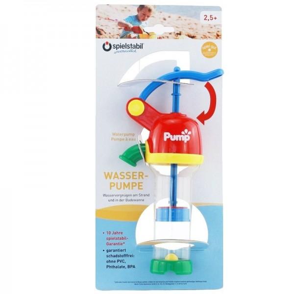Wasserpumpe für Sandspiele rot