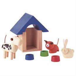 Zubehör fürs Puppenhaus - Haustiere