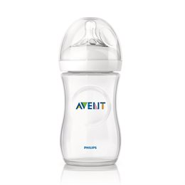 Milchflasche AVENT Naturnah 260 ml  Gr. 1 m+