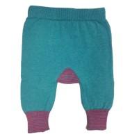 Bio Baby Strickhose aus Wolle Mix für Mädchen & Jungen