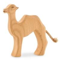 Figur kleines Kamel Holzfigur 10 cm hoch