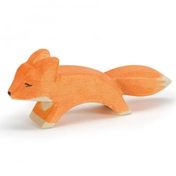 kleiner Fuchs Holzfigur 3,5 cm hoch
