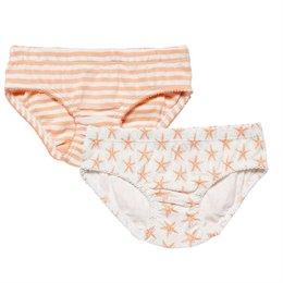 Doppelpack Slips pastell-apricot