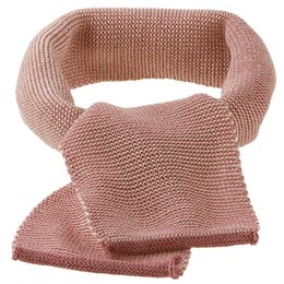Kinder Schal ab 2 - 12 Jahre rosa