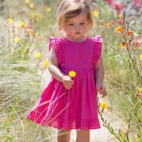 Pinkes Sommerset Kleid + Baby Pants