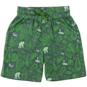 Jungen Shorts Dschungel in oliv-grün