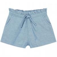 Elegante Mädchen Shorts in hellem jeansblau