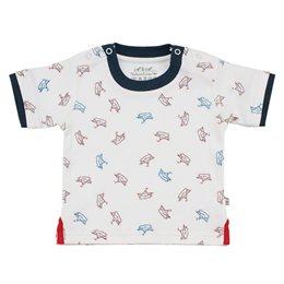 Lagenlook T-Shirt Boot Print