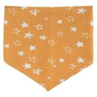 Elastisches Halstuch Sterne honig