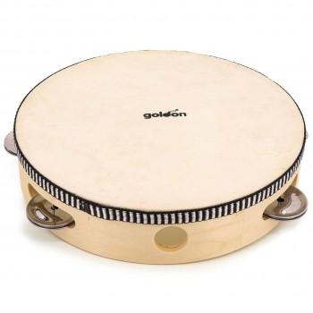 Tamburin mit 6 Schellen, einseitig bespannt ab 3 Jahre