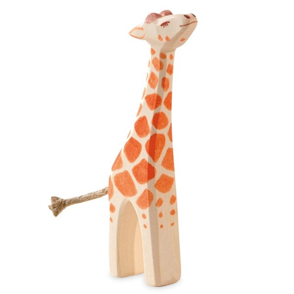 Giraffe klein Holzfigur 13 cm hoch
