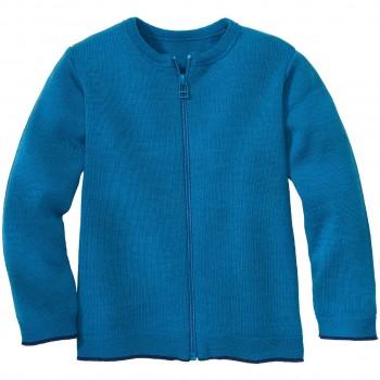 Atmungsaktive Strickjacke leicht in blau