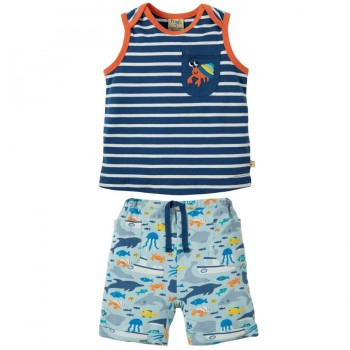 Jungen Outfit Shirt mit Shorts