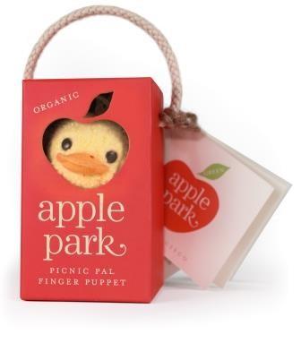 Organic picnic pal Fingerpuppe Ducky