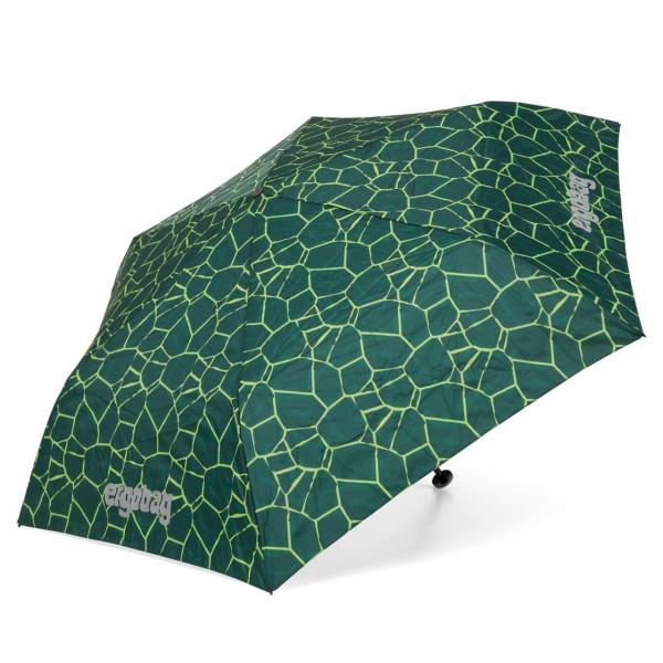 Kinder Regenschirm grüne Schuppen