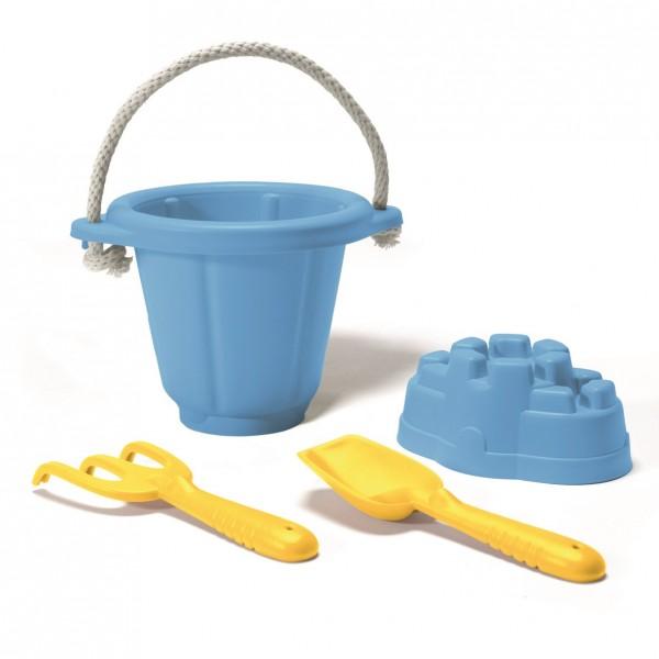 robustes 4 tlg. Sandspiel-Set für Wasser- & Sandspiele