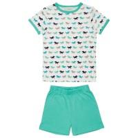 Kinder Bio Schlafanzug Sommer kurze Hose