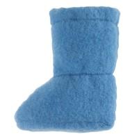 Super warme Babyschuhe als Socke pastell blau