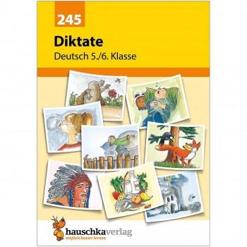Diktat Übungstexte – Deutsch Übungsheft 5. bis 6. Klasse