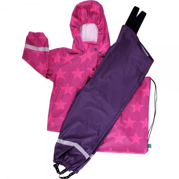 Kinder Regenanzug SET hochwertig & ungefüttert + Tasche