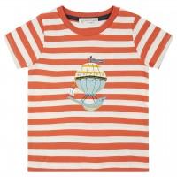 Leichtes Kurzarmshirt Ballon rost-orange