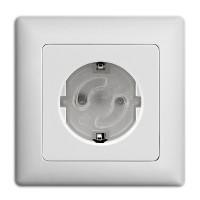Vorschau: Steckdosenschutz klebbar 10 Stück - trasparent