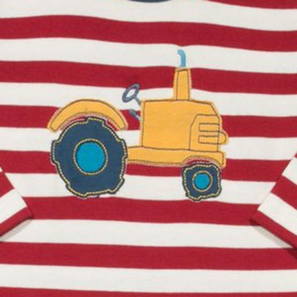 Super softer dickerer Babystrampler Traktor