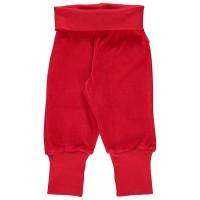 Warme Babyhose Nicki softer Bund rot