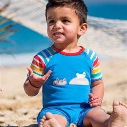 Beachbody Nilpferd blau